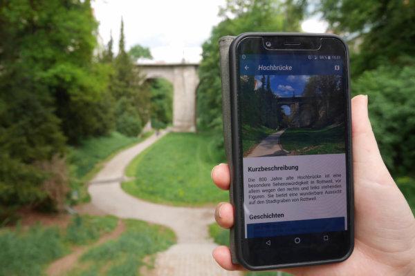 Platz 1: rottweil.life, Baden-Württemberg – Zeitreise-App für Touristen
